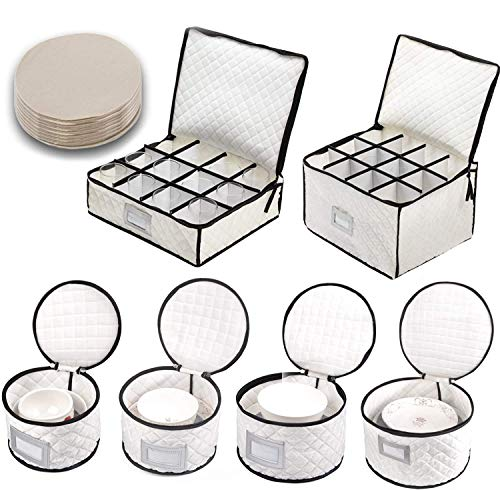 Our #1 Pick is the Woffit Complete Dinnerware Storage Set