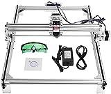 Kacsoo - Kit de máquina de grabado láser, impresora de escritorio DIY, impresora para marcar imágenes con logotipo, cortador para grabado de madera, USB, 12 V