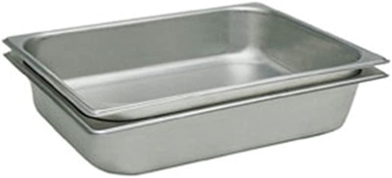 Update International STP 1004 Full Size Pan Straight Sided 25 Gauge 4 Deep