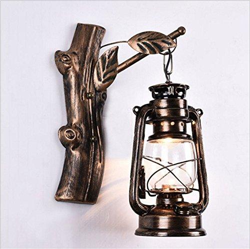 YU-K Retro Iron Horse lamp wandlamp coffee bar traplicht tijdschakelaar