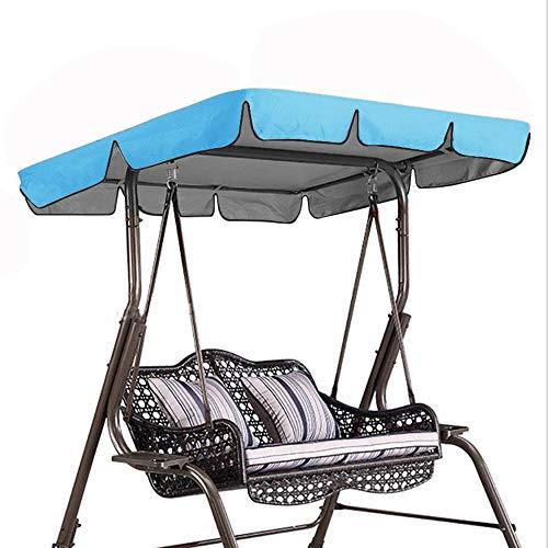 XZPQ Cubierta De Toldo Abatible, Protector Solar para Jardín Courtyard, Cubierta Impermeable para Sombrilla Al Aire Libre, Cubierta Antipolvo Park Rainproof,Azul,164x114x15cm