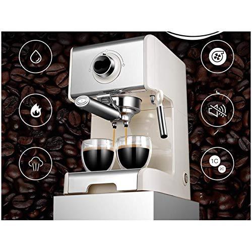 CTDMMJ Cafetera de Vapor 1250W Máquina de café Espresso Comercial para el hogar Cafetera con Bomba de Alta presión 20BAR