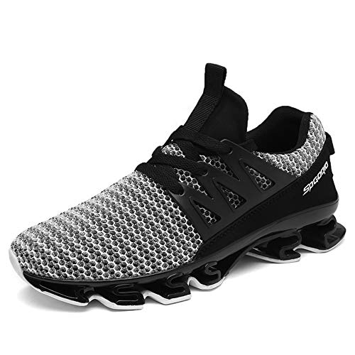 XPERSISTENCE Mens Running Shoes Slip on Best Athletic Sport Gym Travel Tennis Road Trail Cushion Run Sneakers for Men