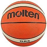 Molten BGHX - Balón de Baloncesto de Entrenamiento Junior, Naranja y Marrón...