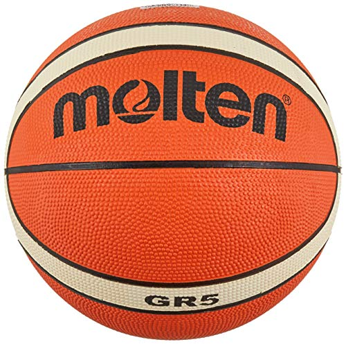 Molten Unisex's School training basketball ball 5, orange/ivory, 5