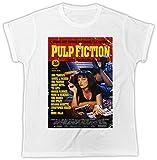 Uk print king Pulp Fiction Uma Thurman Poster Drôle, Sympa, Cadeau, Concepteur, T-Shirt Unisexe
