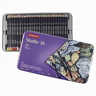 Derwent 32198 Pencil Color Tin - Set of 36