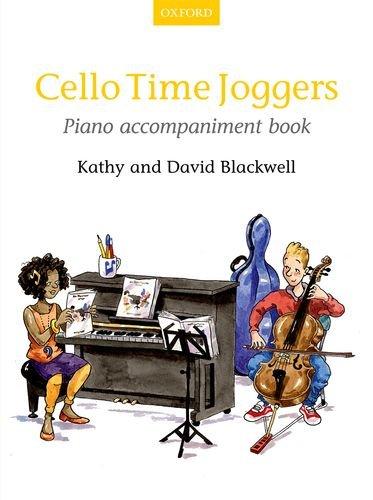 Cello Time Joggers Piano Accompaniment Book: Piano Part