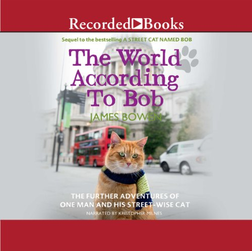 The World According to Bob audiobook cover art
