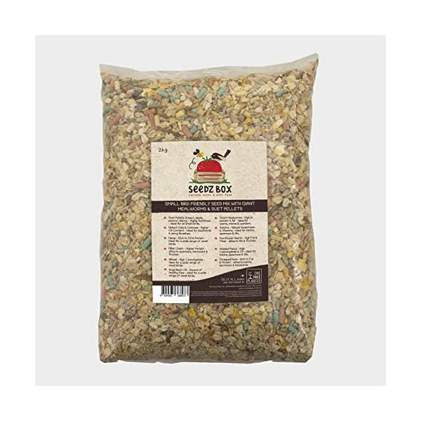 Seedzbox Bird Seed Mix, 5% Of Sales Donated To 1TreePlanted