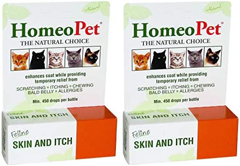 HomeoPet Feline Skin and Itch w k product image