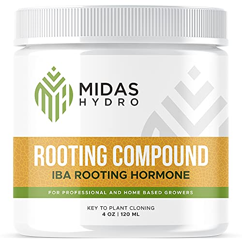 Rooting Gel for Cuttings – IBA Rooting Hormone - Cloning Gel for Strong Clones - Key to Plant...