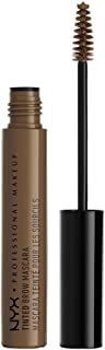 NYX Professional Makeup Tinted Brow Mascara, Brunette,0.22 Fl Oz