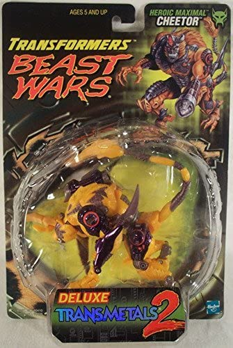 Transformers Beast Wars 2 Deluxe Transmetals Cheetor by Hasbro