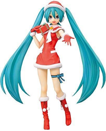 Hatsune Miku Project DIVA F 2nd Hatsune Christmas Outfit PVC Figura