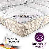 PROCAVE MICRO-COMFORT protège-matelas disponible dans des tailles différentes | fabriqué en Allemagne | Couvre-matelas en microfibre-polyester | technologie Soft Touch | convient également pour les lits boxspring et les matelas à eau | 90x190 cm