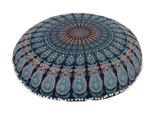 Mandala Floor Pillow (Cover Only)