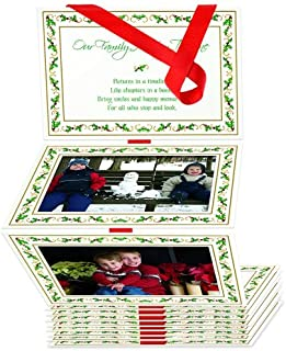 The Grandparent Gift Co. Photo Album, Family Holiday Timeline (Red)