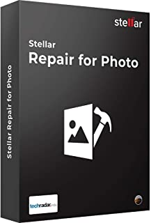 Stellar Repair for Photo Software | for Mac | Standard | Repair Corrupt or Damaged Photos | 1 Device, 1 Yr Subscription | CD