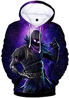 FORTNITE Game Fortress Night Digital Print Sweater 3d Sweater Loose Hoodie Sweater 04, Medium