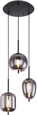 Leuchten Business & Industrie Vintage Glas Pendel Lampe Ess