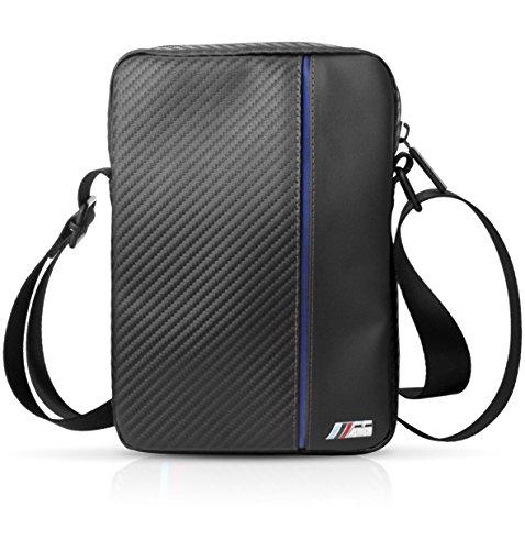 BMW bmtb10capnbk Travel Bag 9–10Pulgadas Carbon Inspiration, M Collection, Universal Negro/Azul