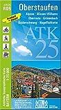 ATK25-R05 Oberstaufen (Amtliche Topographische Karte 1:25000): Alpsee, Missen-Wilhams, Oberreute, Grünenbach, Balderschwang, Nagelfluhkette, Bregenzer ... Amtliche Topographische Karte 1:25000 Bayern)