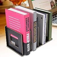 マルチスロット本棚、高品質デスクトップ本棚、オフィスホーム用(black)