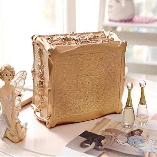 ENXING Caja de pañuelos de Tallado Rectangular, Porta servilletas Retro...