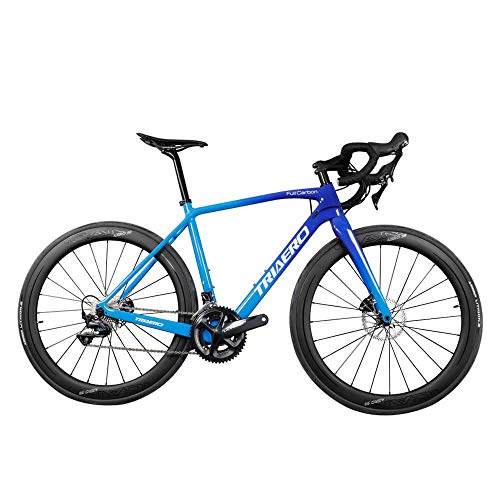 Best Deals! Triaero Carbon Gravel Bike AC388 BB86 49/51/53/55/57/60cm Shiman0 R8000 Groupset