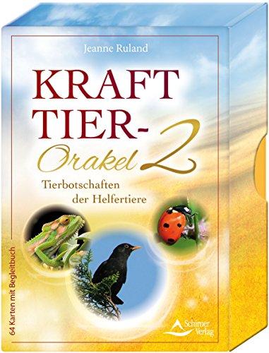 Krafttier-Orakel 2: Botschaften der Helfertiere - 64 Karten mit Begleitbuch