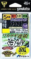 がまかつ(Gamakatsu) ワカサギ連鎖 白雪 狐タイプ 5本仕掛 W-232 1.0-0.2
