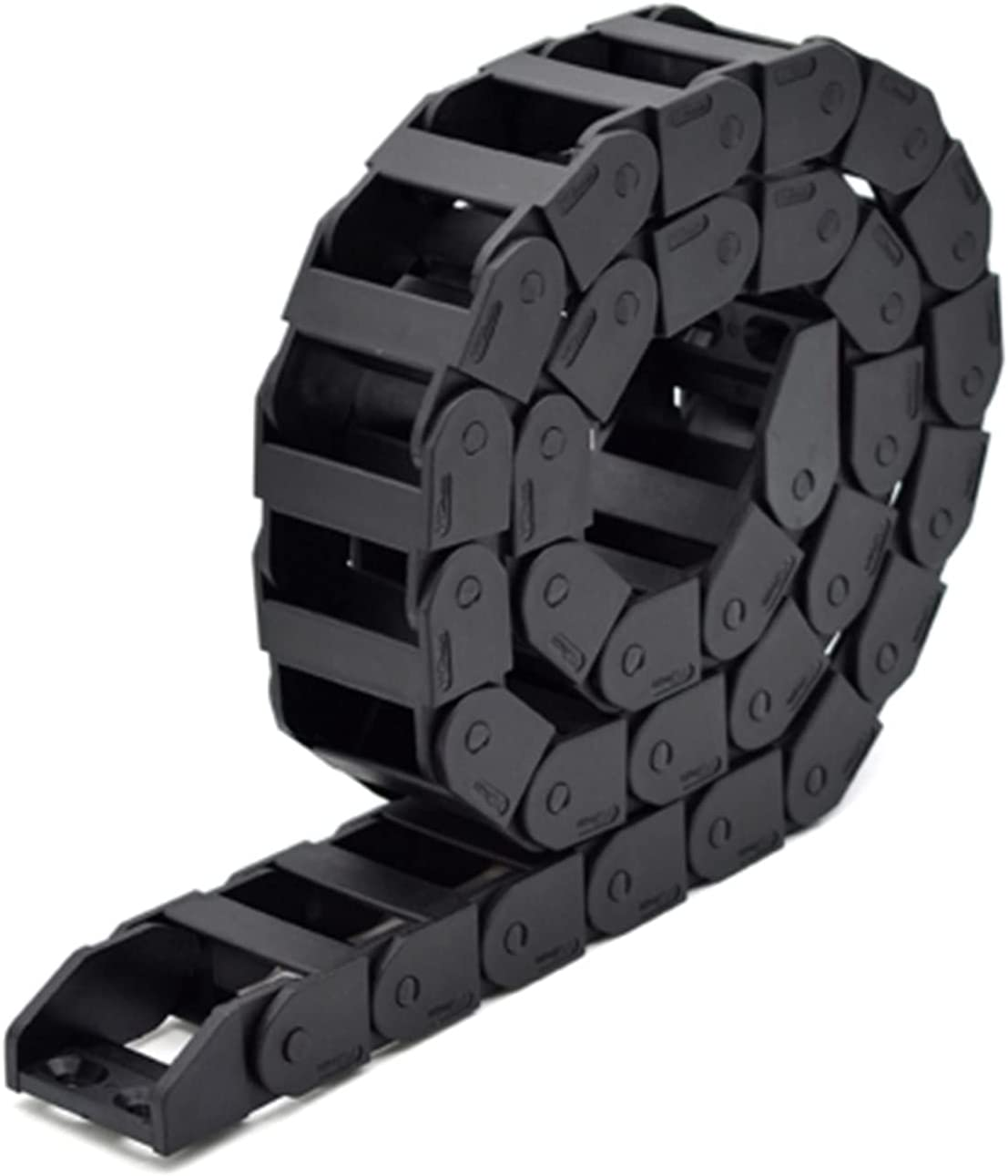 Drag Chain 1meter Cable Chain Bridge Type Non-Opening Plastic To
