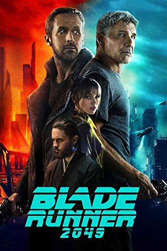 Adoff Puzzle de 1000 piezas individuales Blade Runner 2049, imposible rompecabezas para adultos y niños, rompecabezas imposibles de superar