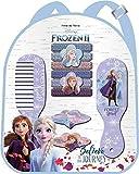Disney Frozen - Accessori per capelli, 2 zaini, per il tempo libero e lo sport, unisex, multicolore, taglia unica