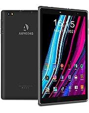 Tablet touchscreen 8 inch Android 10 Tablet PC, 3 GB RAM 32 GB ROM, 128 GB uitbreidbaar, Quad-Core, gecertificeerd door Google GMS, 5000 mAh, Type-C, oogbescherming, WLAN, FM, Bluetooth
