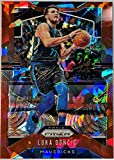 LUKA DONCIC Rare Red Ice Prizm Basketball Card - 2019-20 Panini Prizm Basketball Card - Dallas Mavericks