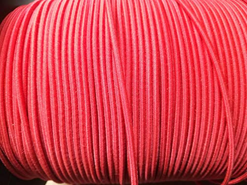 Campfrei Zeltstangen Verbindungsgummi Meterware 50 Meter Ø 2,2 mm Gummiband Elastic Stangengummi