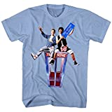 American Classics Bill & Ted's Excellent Adventure Teen Movie You Should Be Here Adult T-Shirt Tee Blue