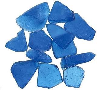 Genuine Glass Gems 1lb-Dark Blue