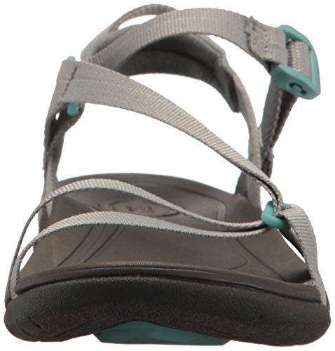Teva Womens Sirra Sport Sandal, Desert Sage, 6 Medium US