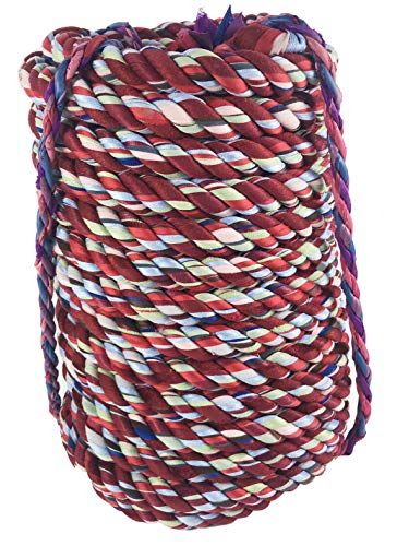 """INTBUYING Tug of War Rope Play Game Pulling for Team Building Activities, Family Reunion, Birthday Party-82ft(25m) 1.3"""" Diameter for 36 People"""