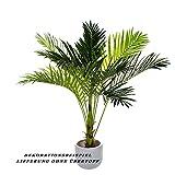 Sarah B XXL Areca Palme. Farnpalme, Kokospalme JWS2255 Riesige künstliche 140cm hohe Kunstpflanze, Kunstblume, Kunstbaum, Zimmerpflanze künstlich - 4