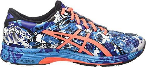 ASICS - Gel-Noosa Tri 11, Zapatillas de Running Hombre, Azul (Island Blue/Flash Coral/Black 4006), 44 EU