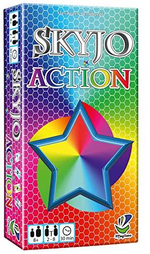 Magilano - SKYJO Action - Das aufregende Kartenspiel für spaßige und amüsante Spieleabende im Freundes- und Familienkreis.