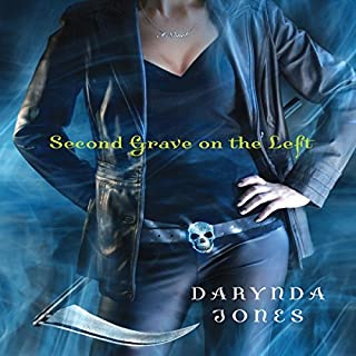 Second Grave on the Left     Charley Davidson, Book 2              By:                                                                                                                                 Darynda Jones                               Narrated by:                                                                                                                                 Lorelei King                      Length: 9 hrs and 30 mins     4,469 ratings     Overall 4.6