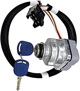 Ignition Switch For Ford Holland 5640, 6640, 6640O, 7740, 7740O, 7840, 7840O, 8160, 8240, 8260, 8340, 8360, 8560+ Series, 81864288, 87561528, F0NN11N501AA, 1100-0962