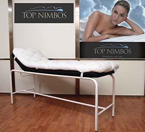 Top Nimbos - Topper para Camilla, con visco - 60 x 180