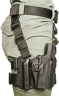 BLACKHAWK! SERPA LVL 2 Tactical Holster (Black, Size 61 - SIG P250 / P320)
