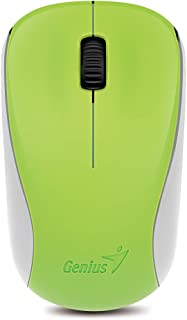 Genius 2.4GHz High PrecisionOpticalProgrammable Wireless MouseBlueEyeEngine (NX-7000 Spring Green)